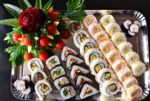 plateau de sushi assortimen 2